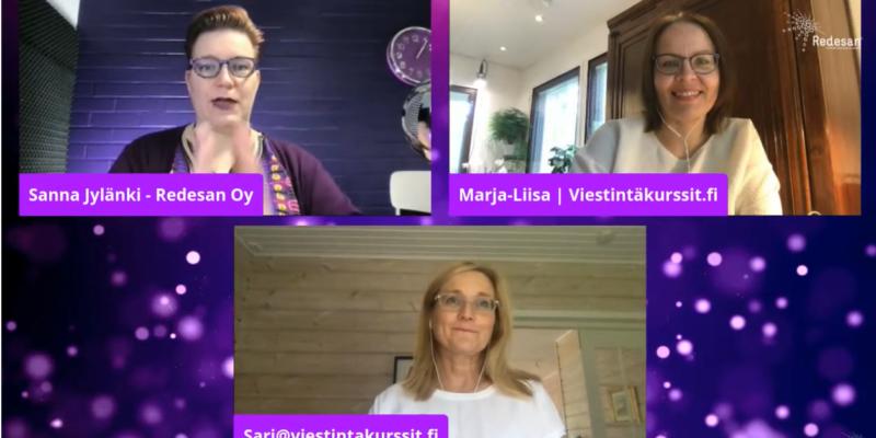 Mistä Viestintäkurssit.fi:ssä on kyse – katso lyhyt videotallenne: SomeMessut